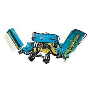 ZANON CST+DMI DOPPIA Double inter-row weeder | Interkomerc doo